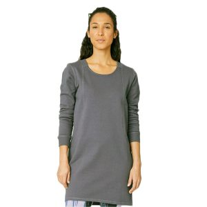 Bamboe jurk medium grey