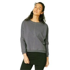Bamboe sweater medium grey-grijs