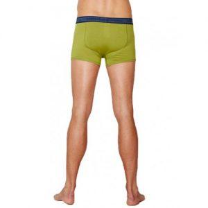 Bamboe boxers olijf groen achterkant Bamboe Fashion