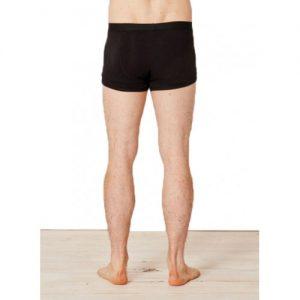 Bamboe boxers zwart achterkant Bamboe Fashion