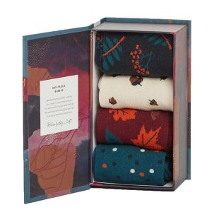 Bamboe sokken kado box herfst Bamboe Fashion
