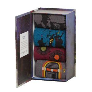 Bamboe sokken kado box muziek Bamboe Fashion