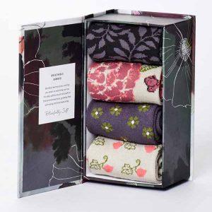 Bamboe sokken kado box planten Bamboe Fashion