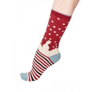 Bamboe sokken sneeuwpop Bamboe Fashion