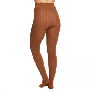 Bamboe maillot bruin achterkant Bamboe Fashion