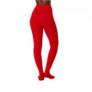 Bamboe maillot rood achterkant Bamboe Fashion