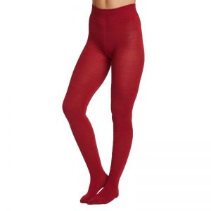 Bamboe maillot warm rood Bamboe Fashion
